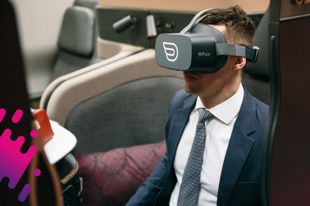 Inflight VR Qatar Airways